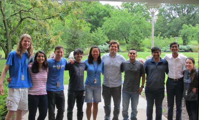 Photo of SPIS Interns from Summer of 2017